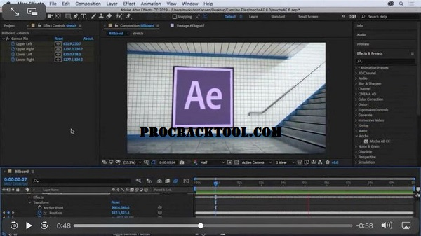Adobe After Effects CC 2019 Crack Download