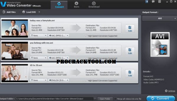 Wondershare Video Converter Full Version Crack